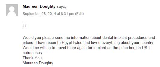 Egypt 2 Comment