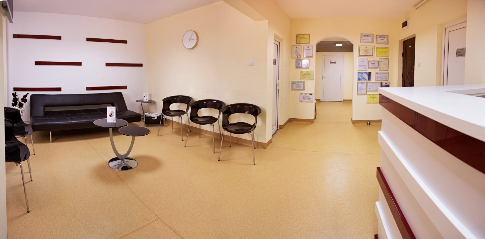 GS Clinic reception area 2