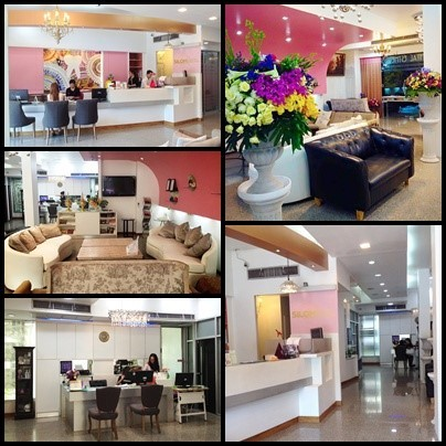 Silom Dental Building Reception