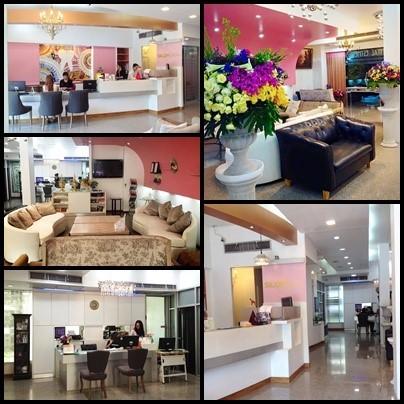 Silom Dental Building Reception