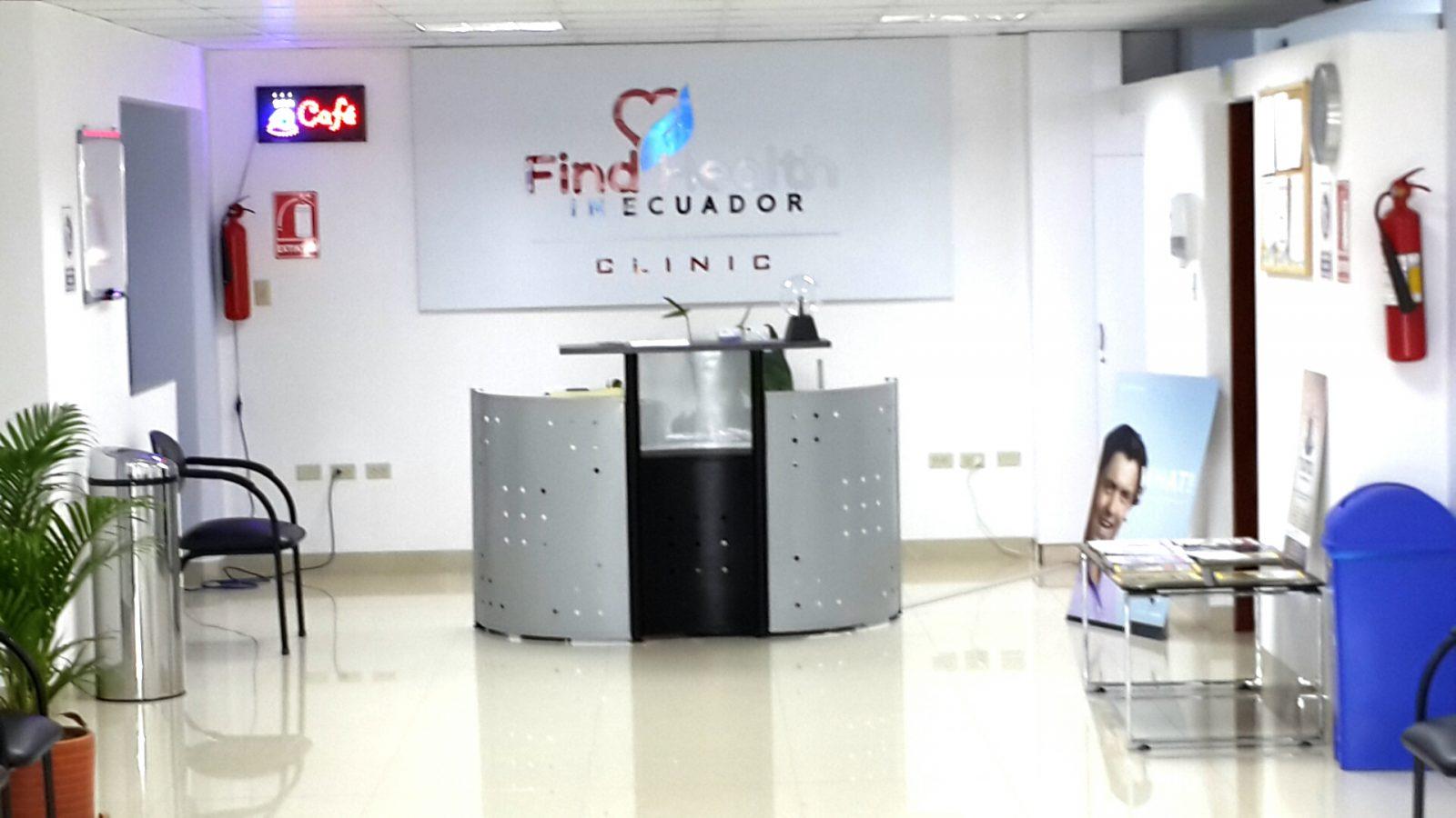 Find Health Reception Area